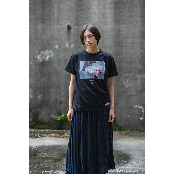 黒沢清 アパレルコレクション CURE キュア 拳銃と指 T-Shirt