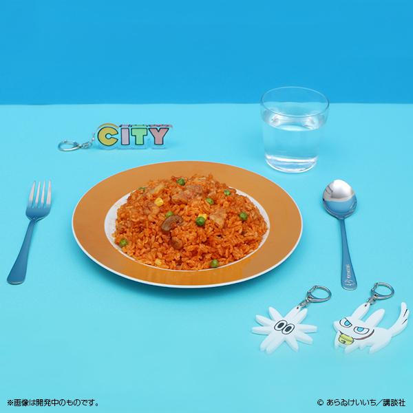 CITY 洋食マカベのプレート