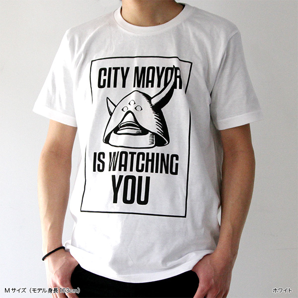 アップルシードα 市長Tシャツ&ステッカーセット