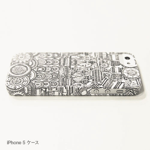 乙嫁iPhoneケース G 金物屋の店先(写真プリントタイプ)