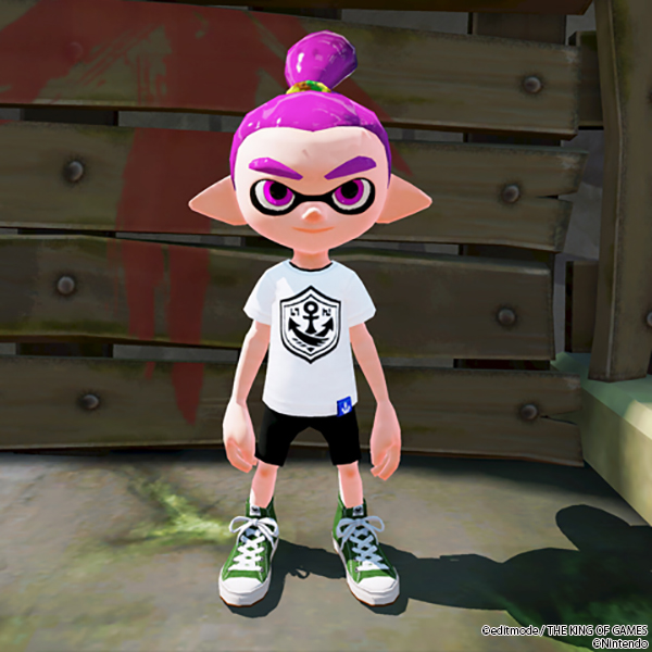 THE KING OF GAMES スプラトゥーン ガチTシャツ