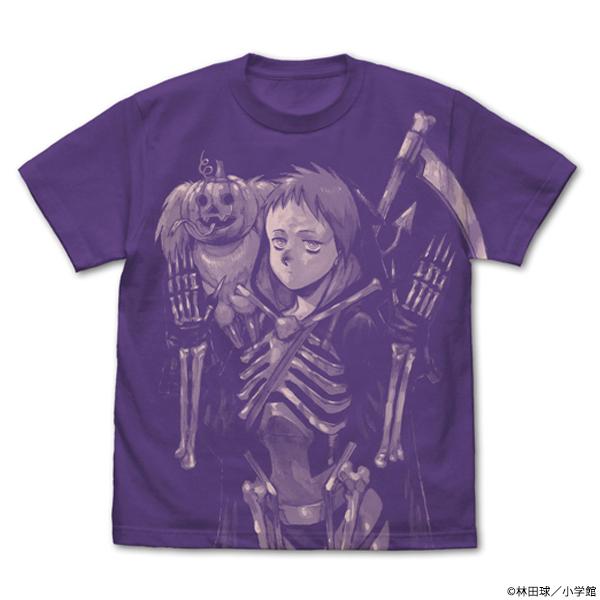 ドロヘドロ 恵比寿&キクラゲ オールプリントTシャツ