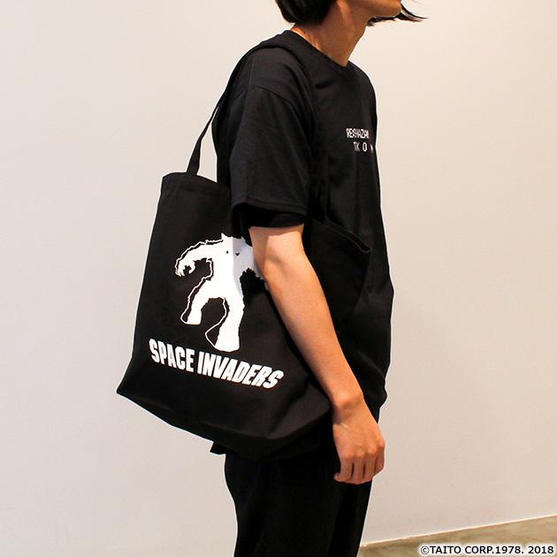 VIDEO GAME TOKYO スペースインベーダー MONSTERシリーズ トートバッグ