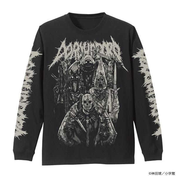 ドロヘドロ 悪魔たちの袖リブロングスリーブTシャツ