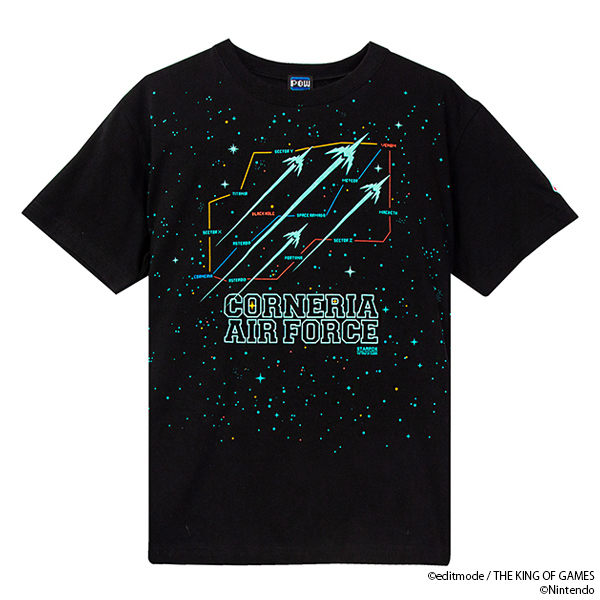 THE KING OF GAMES スターフォックス ROUTE Tシャツ