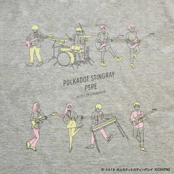 ライブナタリー201804 Tシャツ