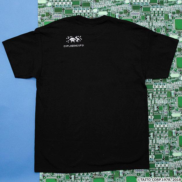 VIDEO GAME TOKYO スペースインベーダー SHOOTINGシリーズ 箔押しTシャツ