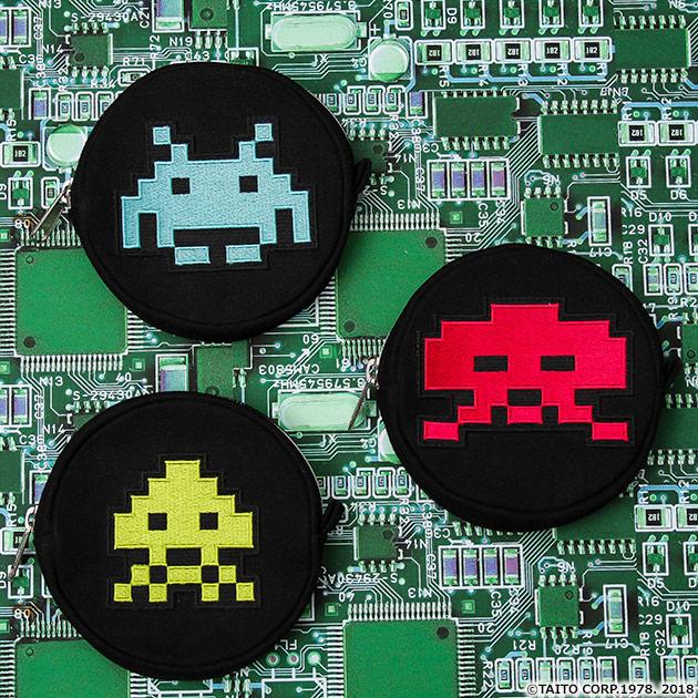 VIDEO GAME TOKYO スペースインベーダー コインケース