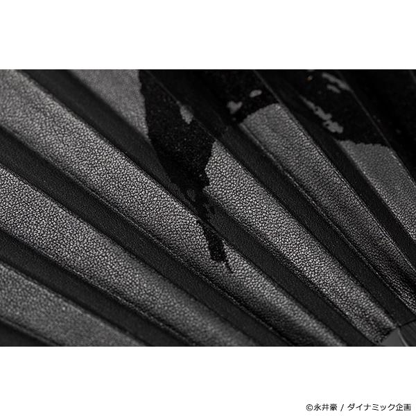 永井豪画業50周年記念企画 デビルマン×T.A.S コラボレーション革扇子