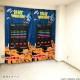 VIDEO GAME TOKYO スペースインベーダー 遮光付きカーテン 178cm