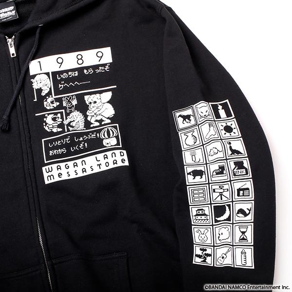 VIDEO GAME TOKYO ワギャンランド ジップアップパーカー