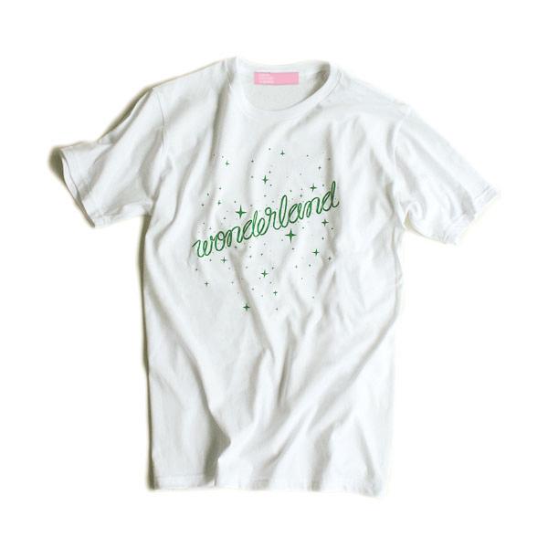 TOKYO CULTUART by BEAMS × 2.5D × Negicco / WONDERLAND Tシャツ