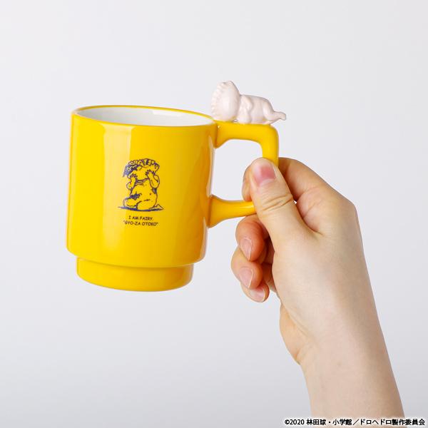 ドロヘドロ ギョーザ男立体マグカップ