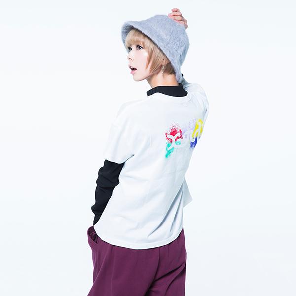でんぱ組.inc×X-girl ロゴTEE