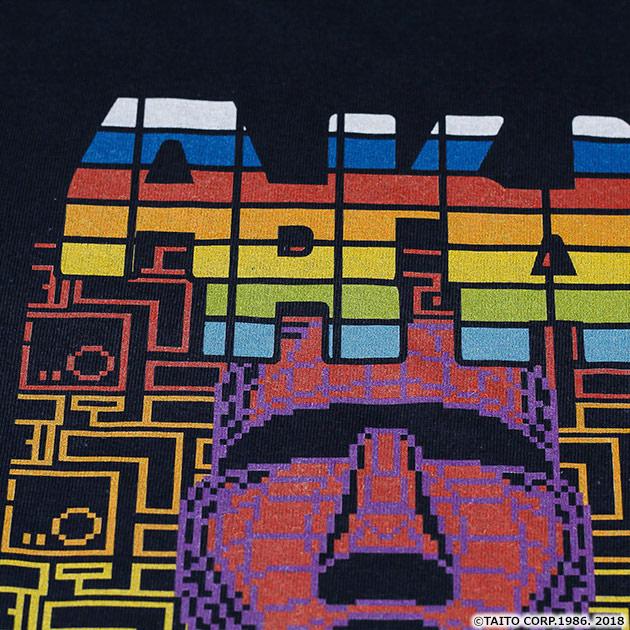 VIDEO GAME TOKYO アルカノイド フルカラーTシャツ ネイビー