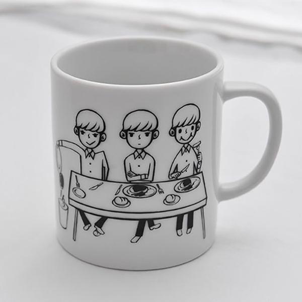 【復刻】フード理論 フード3原則マグカップ