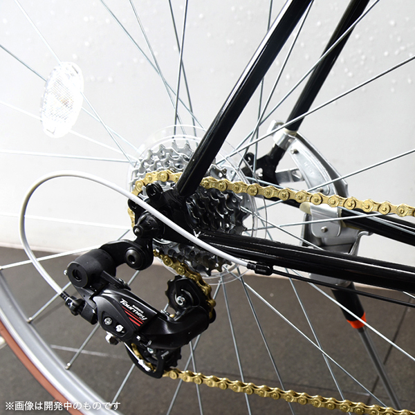 アップアップガールズ(仮)×ミヤタサイクル ロードバイク