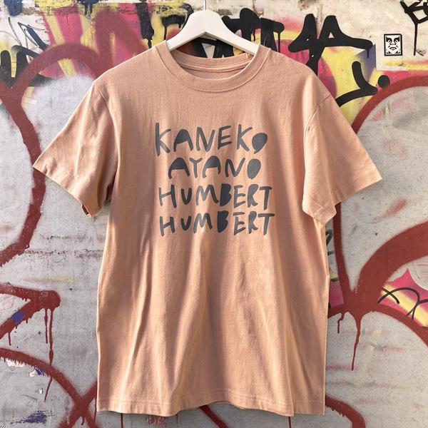 ライブナタリー カネコアヤノ×ハンバート ハンバート Tシャツ