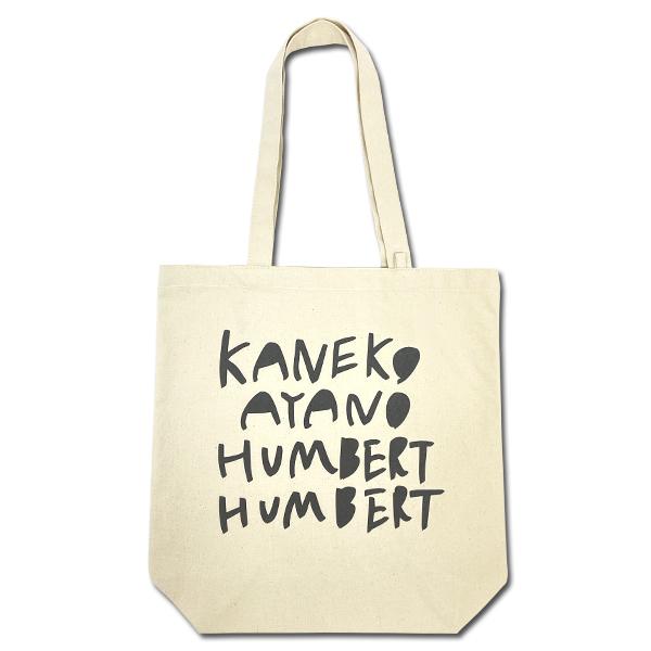 ライブナタリー カネコアヤノ×ハンバート ハンバート トートバッグ
