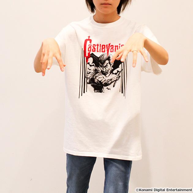 VIDEO GAME TOKYO 悪魔城ドラキュラ SIMON&DRACULAシリーズ Tシャツ