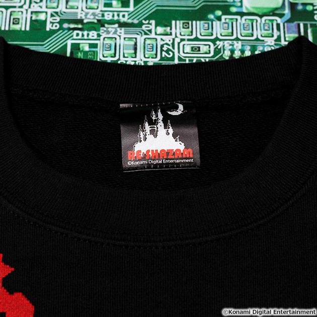 VIDEO GAME TOKYO 悪魔城ドラキュラ SIMON&DRACULAシリーズ スウェット