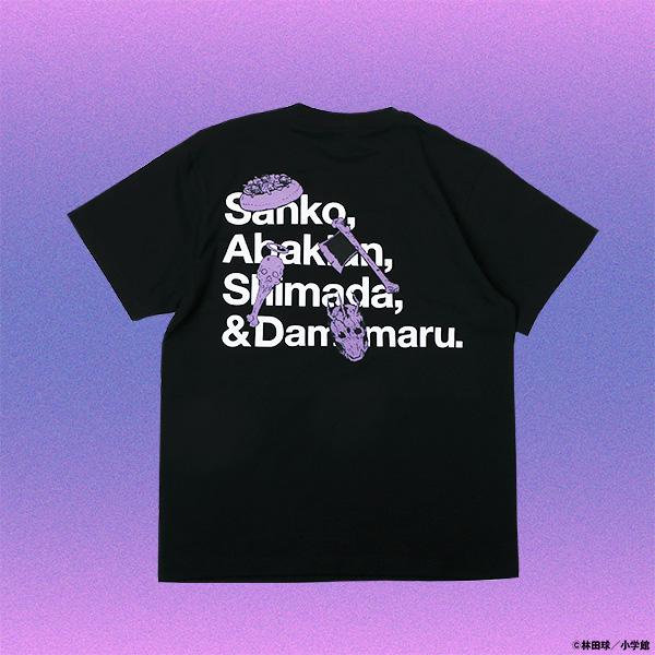 大ダーク 4匹の害悪Tシャツ