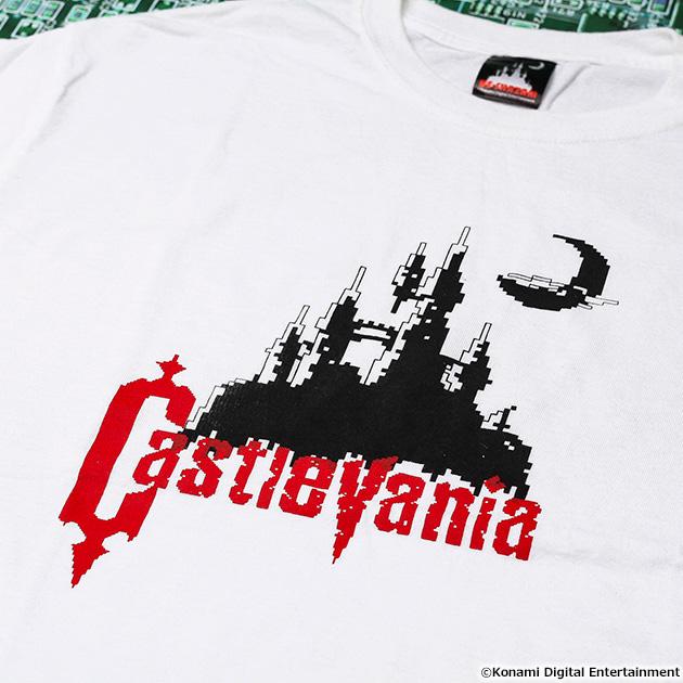 VIDEO GAME TOKYO 悪魔城ドラキュラ Castlevaniaシリーズ Tシャツ
