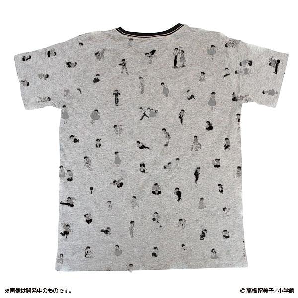 らんま1/2 乱馬とあかねの総柄Tシャツ