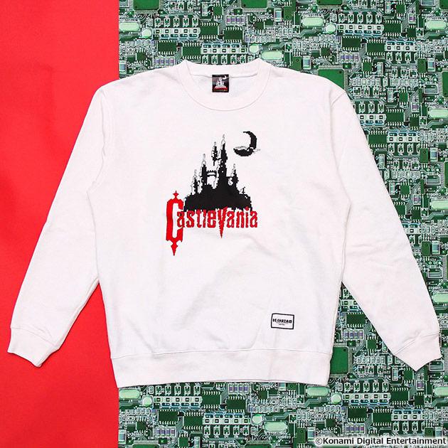 VIDEO GAME TOKYO 悪魔城ドラキュラ Castlevaniaシリーズ スウェット