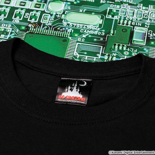 VIDEO GAME TOKYO 悪魔城ドラキュラ パッチワークTシャツ