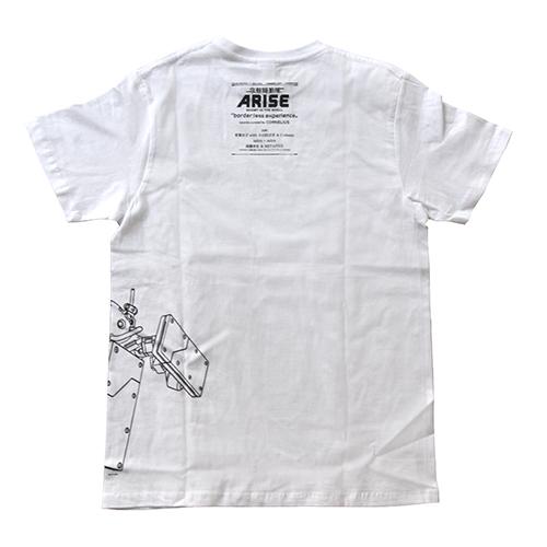 """攻殻機動隊ARISE""""border:less experience"""" ロジコマ Tシャツ"""