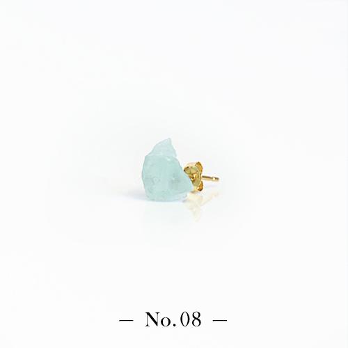 宝石の国 フォスフォフィライトのかけらピアス