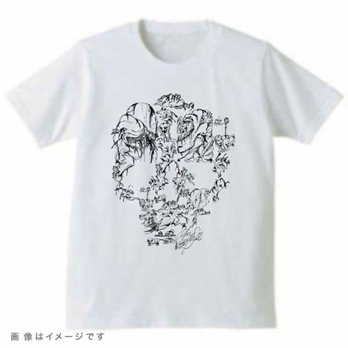 画伯のスカルTシャツ