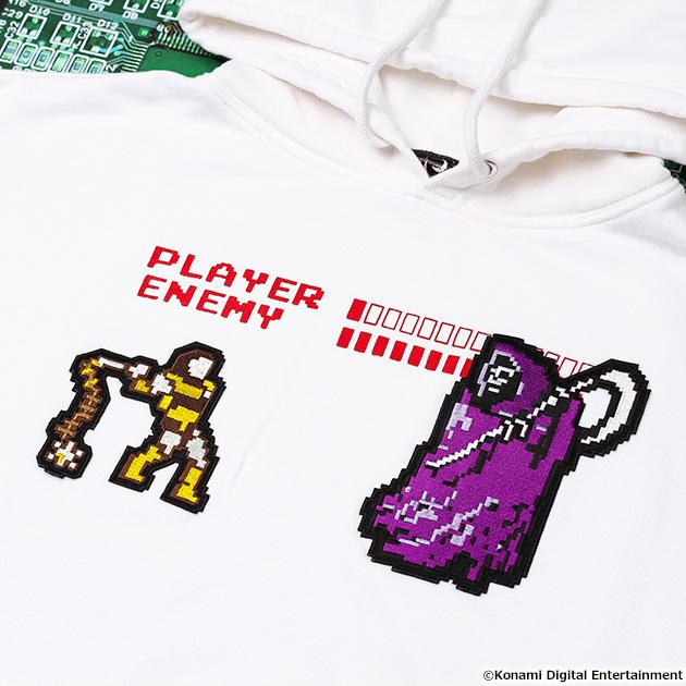VIDEO GAME TOKYO 悪魔城ドラキュラ 死神シリーズ パーカー