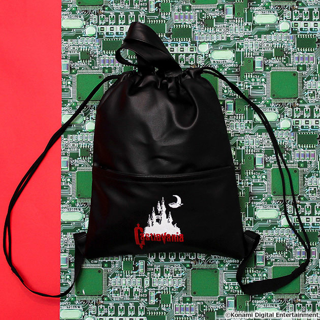 VIDEO GAME TOKYO 悪魔城ドラキュラ ナップザック ブラック