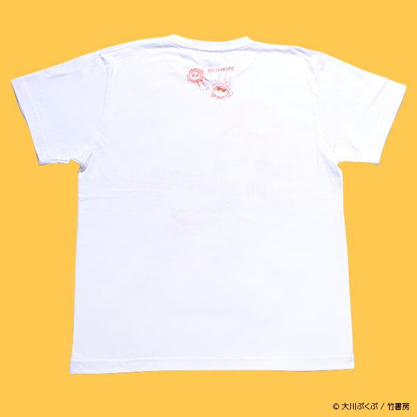 ポプテピピック SUNBURRRRRRRRN!!!!Tシャツ