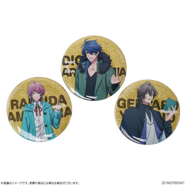 「ヒプノシスマイク-Division Rap Battle-」Rhyme Anima コレクション缶バッジ