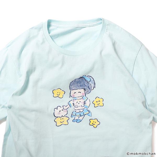 ピンキー!ともくもくちゃん Tシャツ
