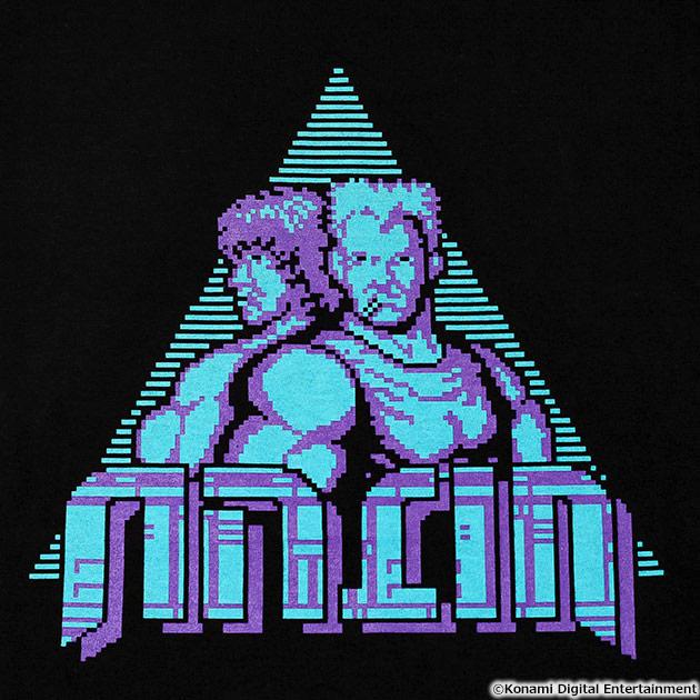 VIDEO GAME TOKYO 魂斗羅 Tシャツ ビル&ランス