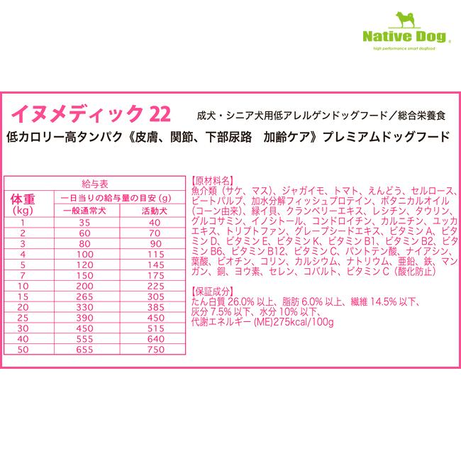 nativedog イヌメディック3kg   送料無料/一部地域は送料別
