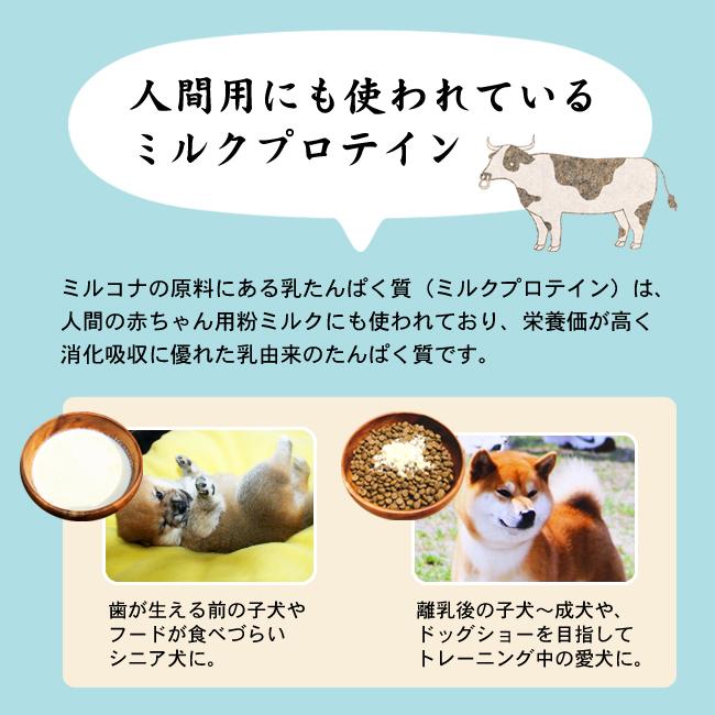Native Dog ミルクサプリ - ミルコナ - 500g入