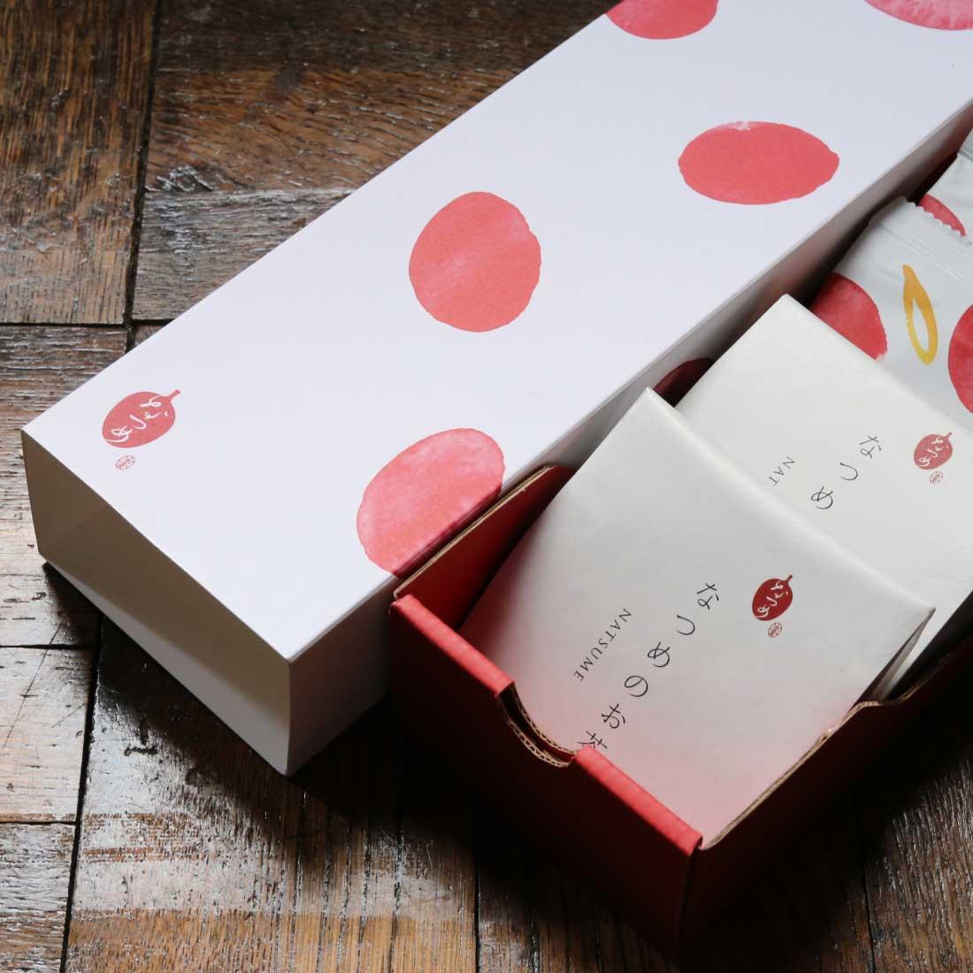 【お茶とチップが楽しめる】なつめチップ12g×6個と なつめのお茶5個×2袋のギフトセット