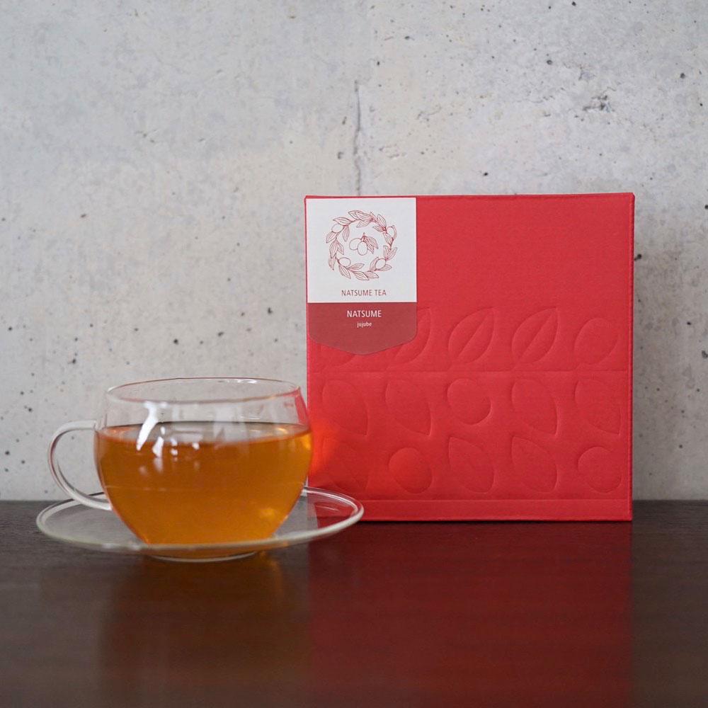 なつめのお茶 (10個入り)  国産(福井県)なつめ100%・ノンカフェイン・無農薬