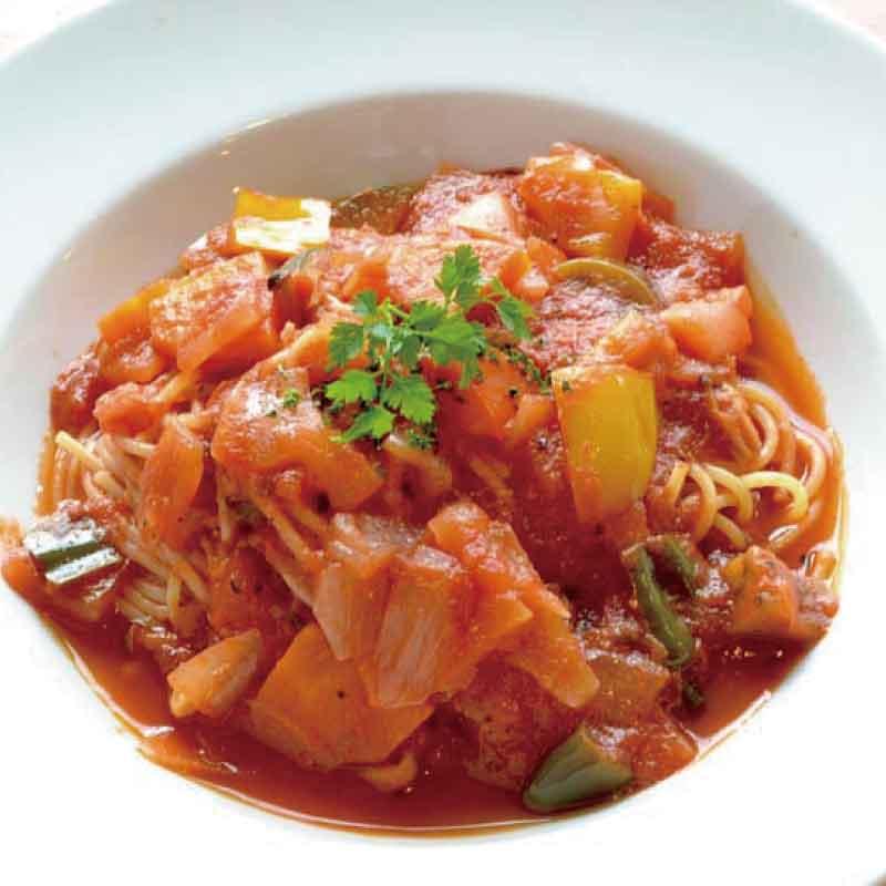 【冷製】一日分の野菜いっぱいトマトソース
