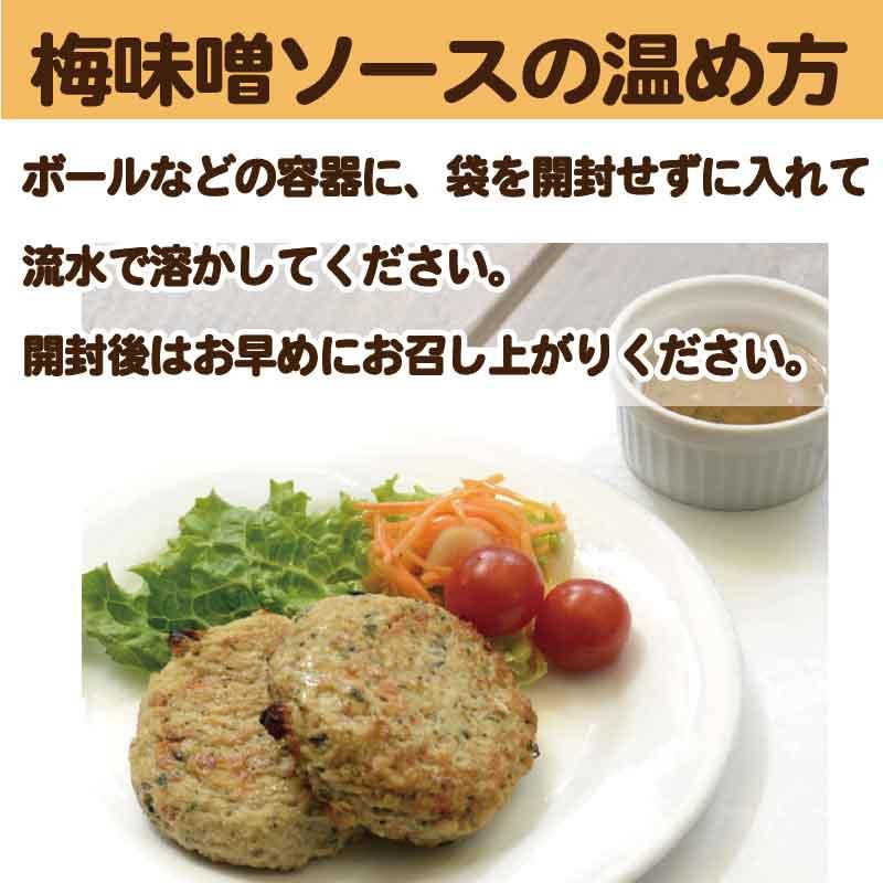 有機豆腐と地鶏のハンバーグ 6個入り