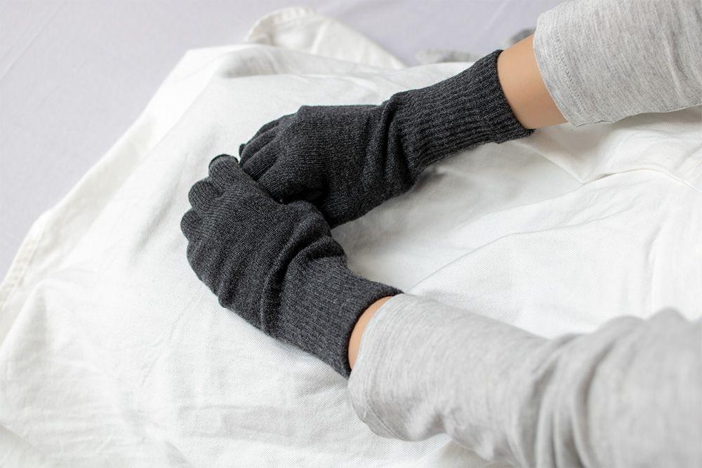 メリノウール 指先フリー 手袋 男女共通 ユニセックス フリーサイズ 全4色 natural sunny