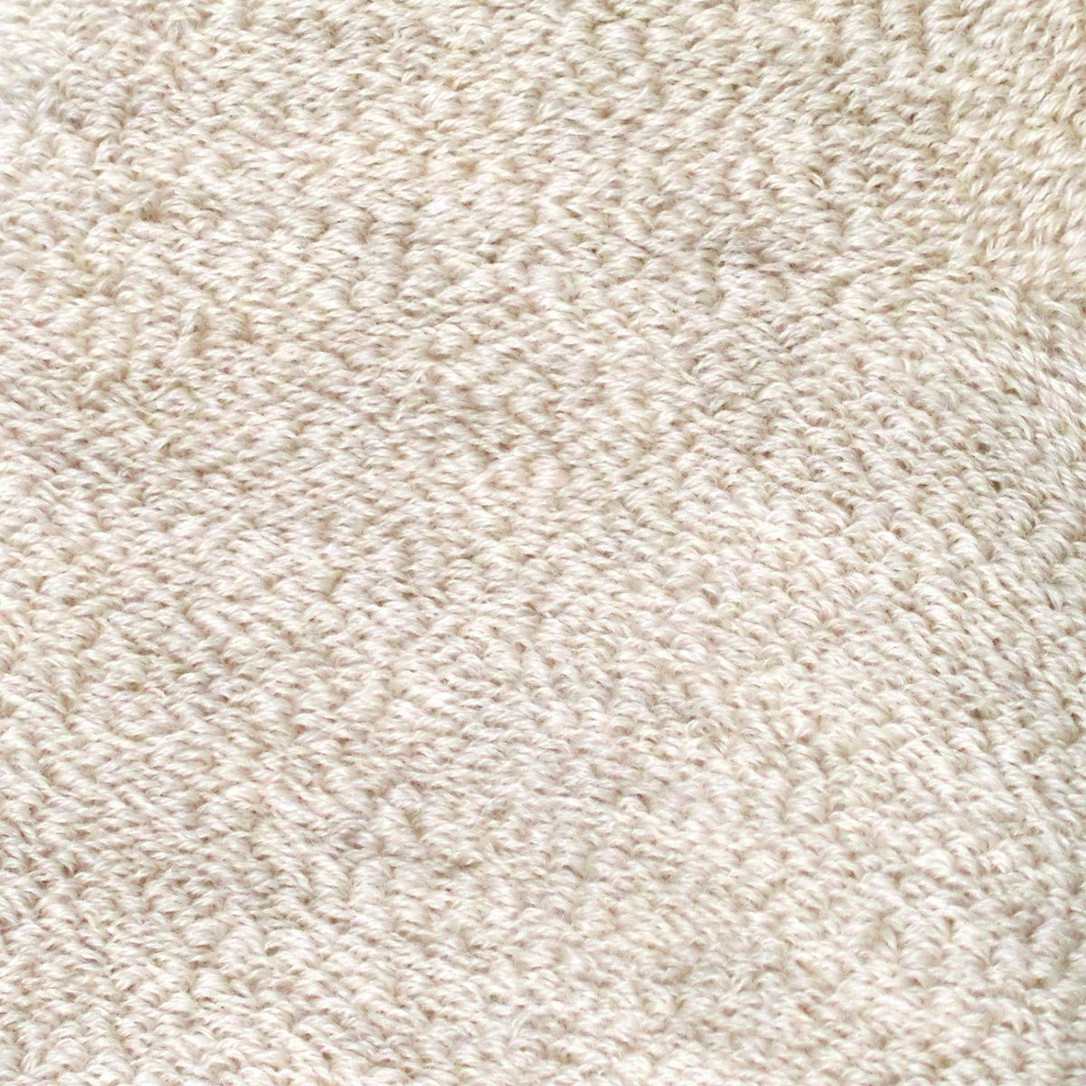 【温活にも】ウールパイル二重編みソックス/ショート丈(23-25cm)[温活・妊活応援アイテム]