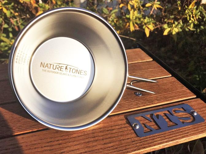 ネイチャートーンズロゴ オリジナルシェラカップ