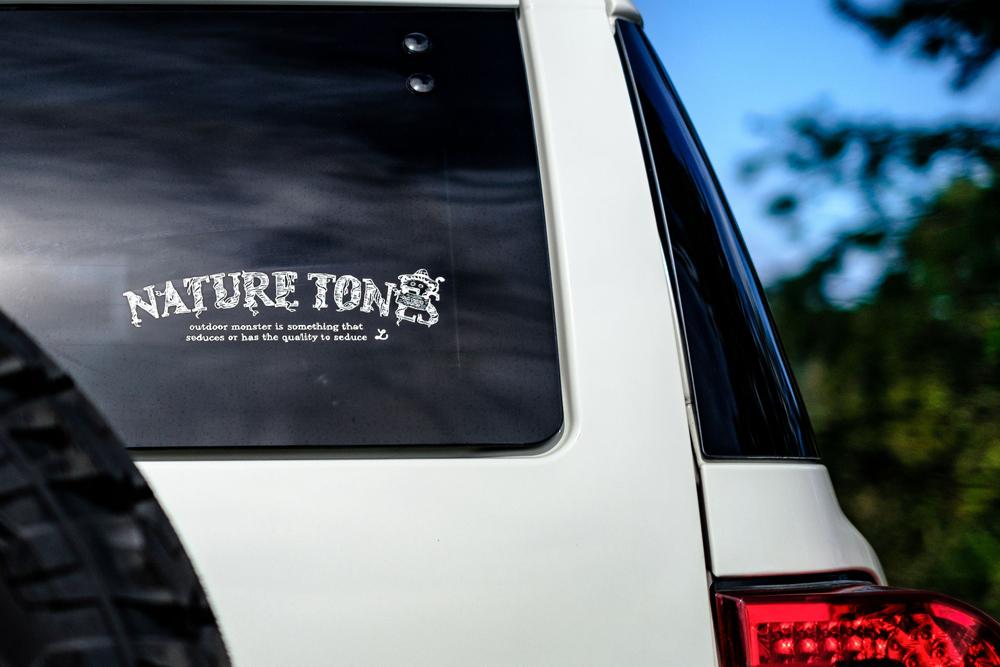 NATURETONES<br>【 Tree Logo】 <br>BIGカッティング<br> 転写ステッカー
