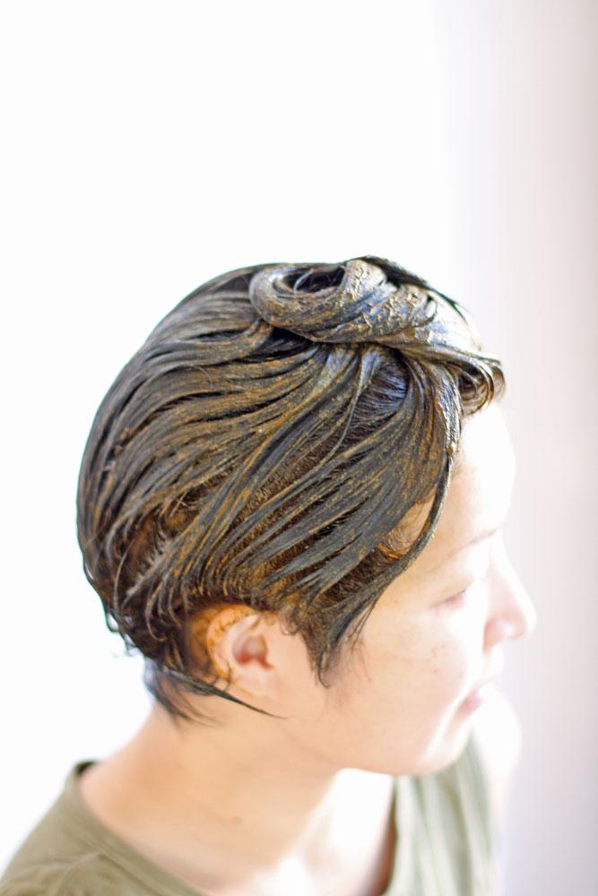 染粉ヘナ (植物成分100%白髪染め)